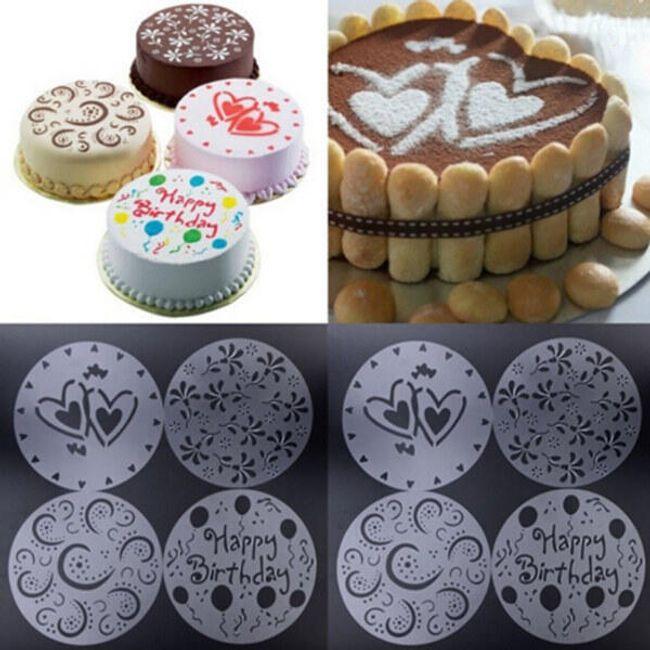 Predloge za torte - 4 kosi 1