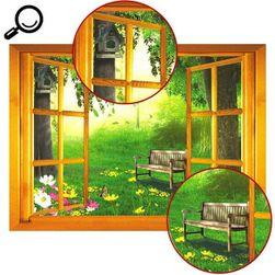 3D стикер - прозорец към природата