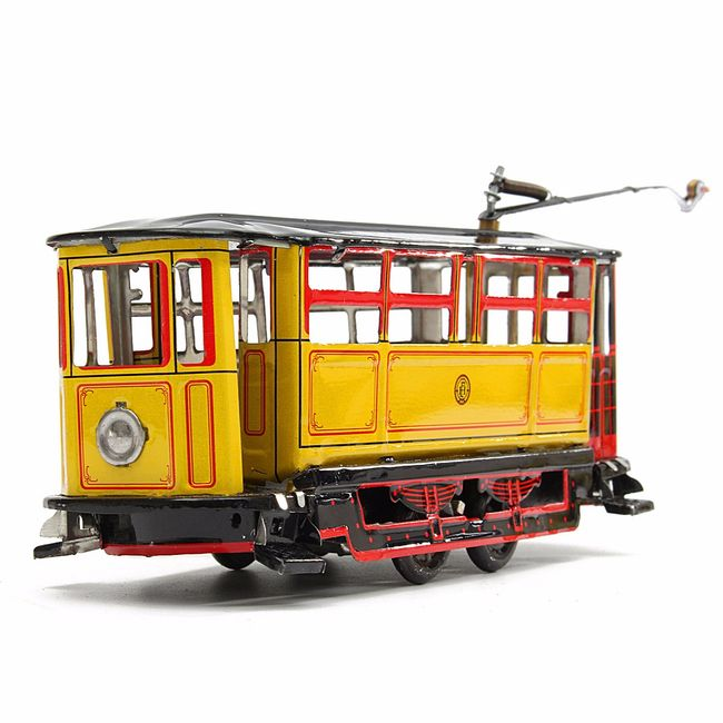 Ретро трамвай на ключ 1