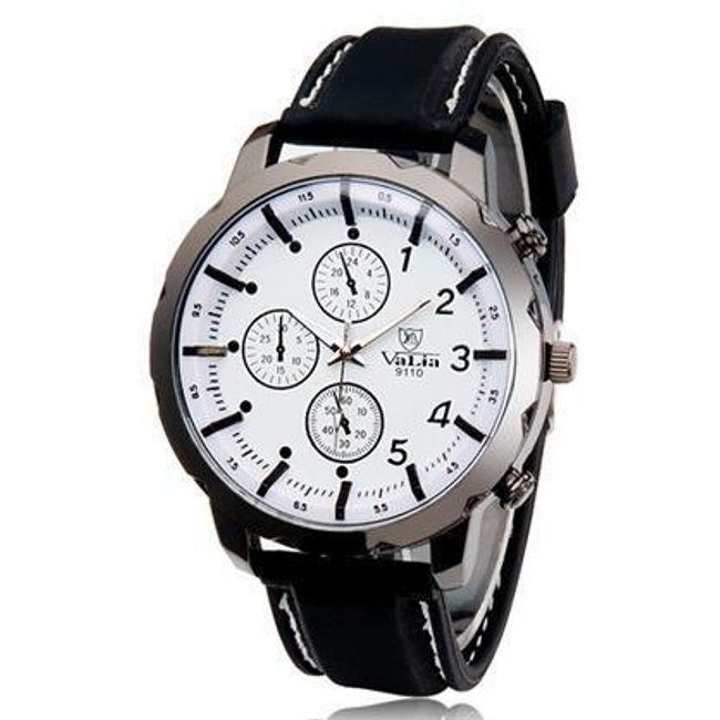 Męski silikonowy zegarek z silikonowym paskiem - więcej kolorów 1