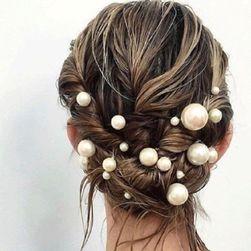 Декоративный жемчуг для волос TF15