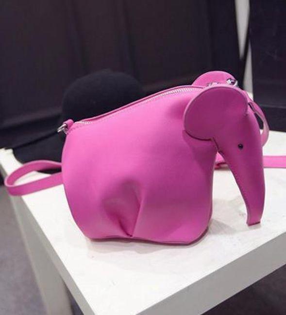 Elefánt alakú kézitáska