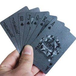 Voděodolné karty na žolíky nebo poker