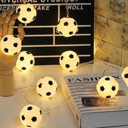 LED верига - футболни топки