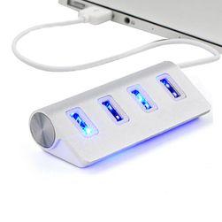 Wysokiej prędkości koncentrator USB z czterema portami w eleganckim stylu
