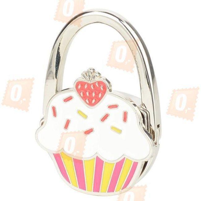 Skládací háček na kabelku ve tvaru dortíku 1