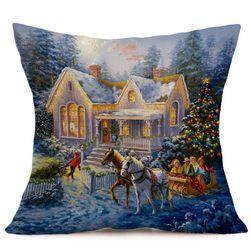 Bożonarodzeniowa poszewka na poduszkę M633