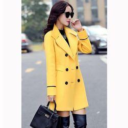Ženski kaput sa dugmićima - 4 boje