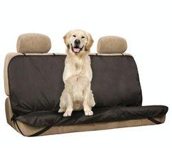 Zaštitna navlaka za pse za auto sedište - crna boja