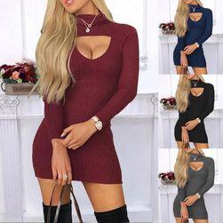 Ženska haljina sa dugim rukavima EA_598605689025