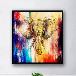 Plátěnný obraz se slonem - 3 rozměry