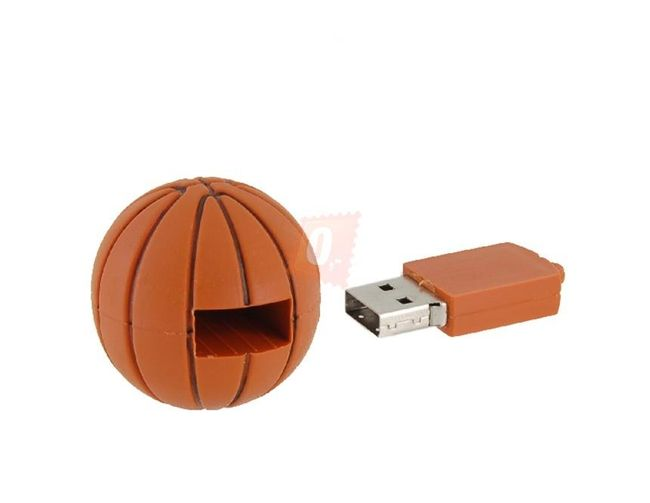 4GB Flashdisk - basketballový míč 1