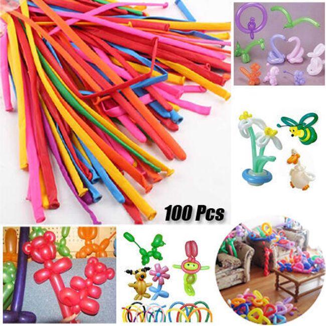 Dugački baloni na naduvavanje - 100 komada 1