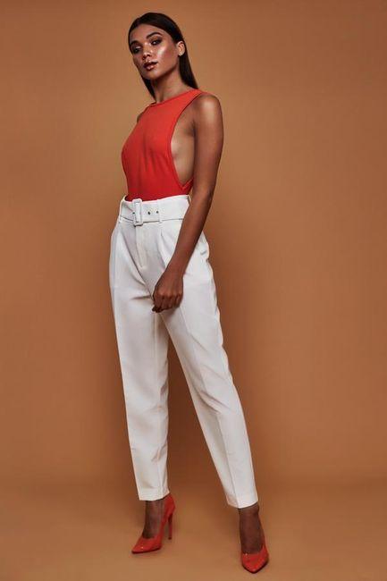 Magas derékú női nadrág WS26