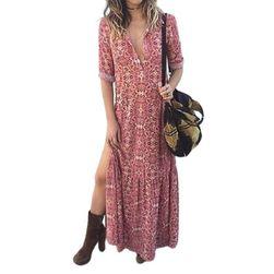 Ženska haljina sa dugim rukavima EA_599621880380