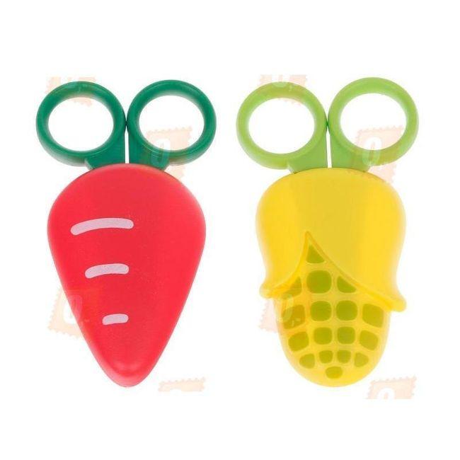Dětské nůžky v ochranném plastovém pouzdře 1