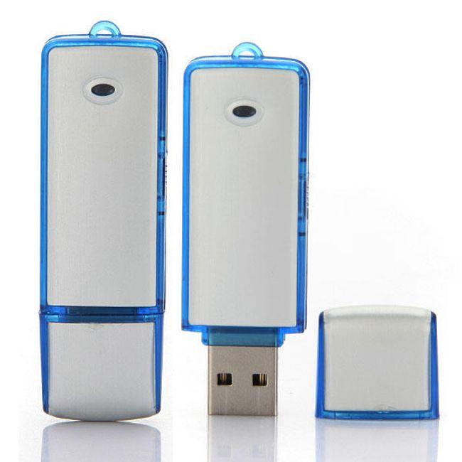 USB 4 GB flash disk s diktafonem - nenápadný odposlech 1