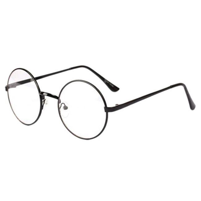 Hamis szemüveg kör alakú kerettel | ShipGratis.hu
