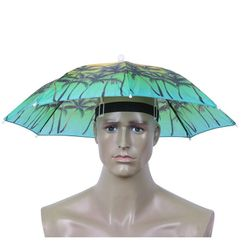 Parasol na głowę - 8 kolorów