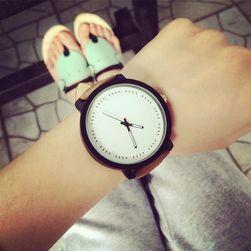Unisex hodinky s mohutným ciferníkem - 2 barvy