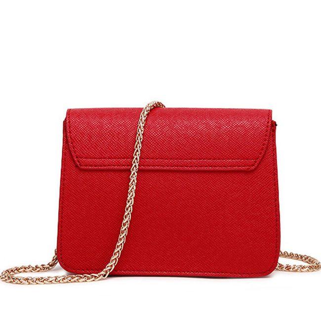 Crossbody kabelka s řetízkem - 8 barev 1