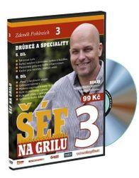 Zdeněk Pohlreich-Šéf na grilu 3 / Hydina a špeciality, DVD PD_1010781