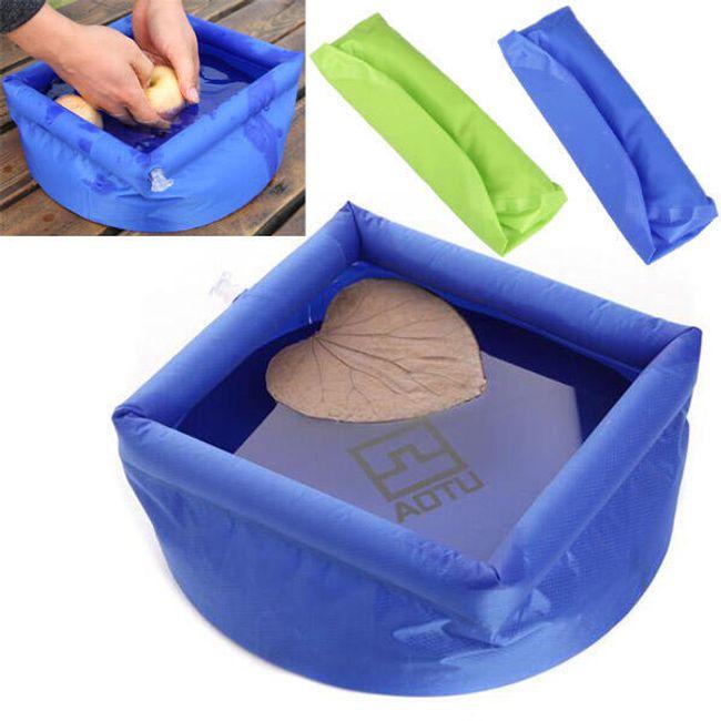 Multifunkční outdoorová nádoba na vodu - 2 barvy 1
