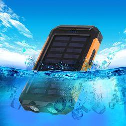 Vodotěsná solární powerbanka 10000mah