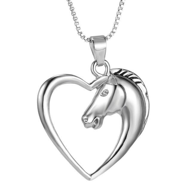Ogrlica z obeskom konja  1