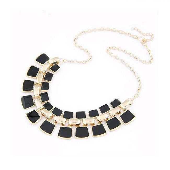 Luxusní velký náhrdelník pro dámy - 3 barvy 1