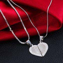 Парные цепочки - сердце