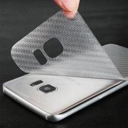 Átlátszó dekoratív fólia a Samsung Galaxy S7, S7 Edge mobiltelefonhoz