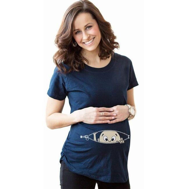Těhotenské tričko Spencer 1