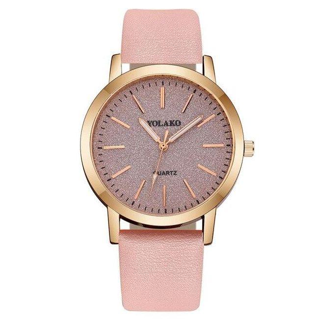 Dámské stylové hodinky se třpytivým ciferníkem - 4 1