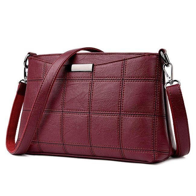Dámská kabelka v elegantním provedení - 6 barev 1