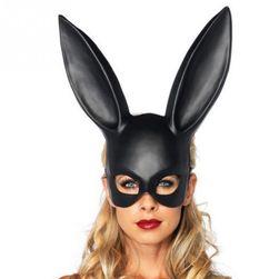 Królik maska na Halloween