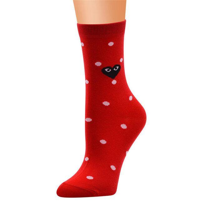 Ženske čarape Leslie 1