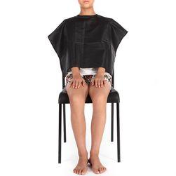 Plášť na strihanie - čierna