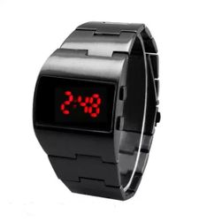 Náramkové hodinky pro muže s nepravidelným tvarem