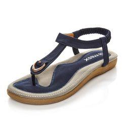 Pohodlné a měkké dámské sandály