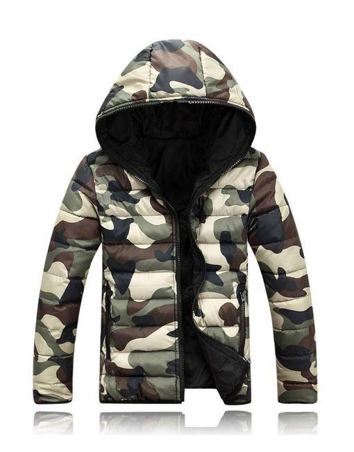Куртка Carlo - камуфляжный стиль 1