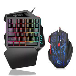 Set herní myši a klávesnice J50