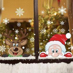 Decorațiune fereastră cu motive de Crăciun V30