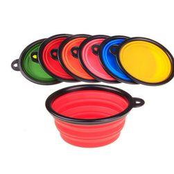 Biztonságos Szilikon Kutya Tál Klip - különböző színekben