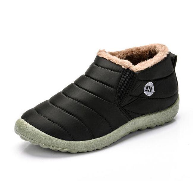 Zateplené dámské boty - 2 barvy 1