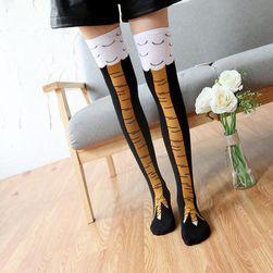 Originální ponožky s motivem ptačího pařátku - 3 barvy