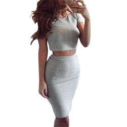 Женский комплект юбка и топ Harlow