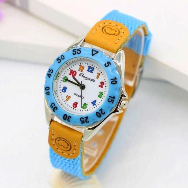 Otroška analogna ura - barvita 1