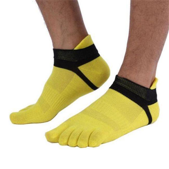 Lélegző férfi futó zokni 1