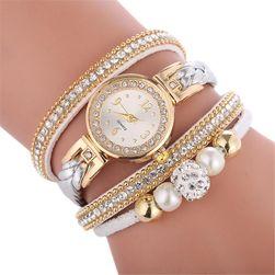 Dámské hodinky F37 Stříbrná